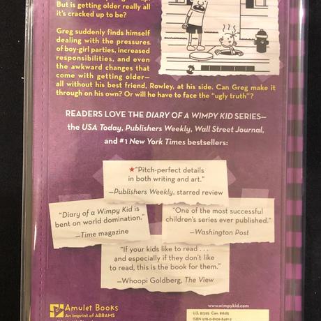 No.6 Diary of a Wimpy Kid  The UglyTruth ハードカバー 高級保存版