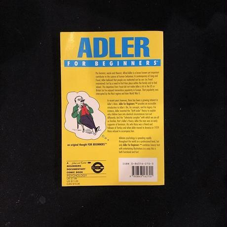 Adler for Beginners (Writers and Readers Documentary Comic Book) (英語) ペーパーバック – 1998/12/1