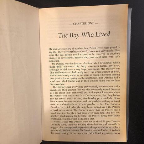 「ハリー・ポッター」Vol.1 Harry Potter & the Philosopher's Stone が英語で楽しく読める本 単行本 – 2003/12/1 と原本の②冊セット