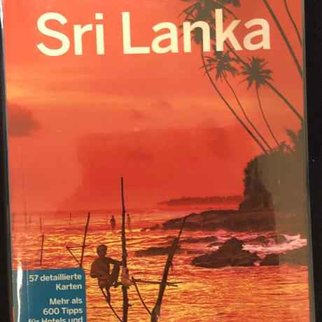 Lonely Planet Reisefuehrer Sri Lanka (ドイツ語) スリランカ トラベルガイド