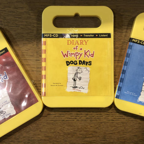 No.13  Diary of a Wimpy Kid: #1#4#6  Audio MP3  3セット
