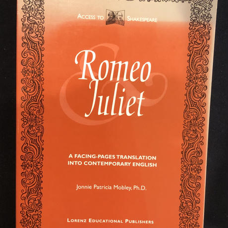 No.6  The Tragedy of Romeo and Juliet: Access to Shakespeare