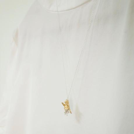 【受注制作】おおかみのふりをする女の子のネックレス
