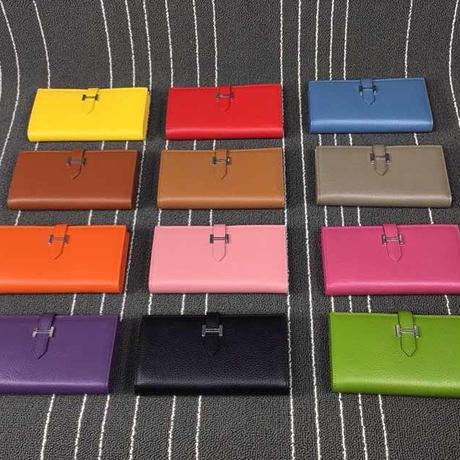 エルメス 高級本革財布 男女兼用 手帳型 多色 WSH5123