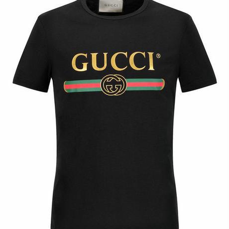 超人気!グッチ 男女兼用 Tシャツ 半袖 2色 人気新品 セレブ愛用 ウィメンズファッション  メンズファッション