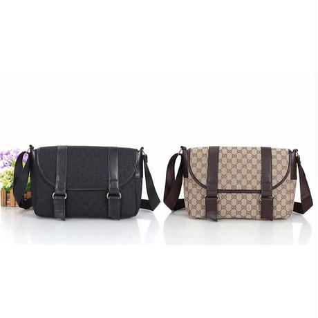 グッチ GUCCI メッセンジャーバッグ 2色選択 かっこよく カジュアル 男女兼用 人気 メンズファッション ウィメンズファッション