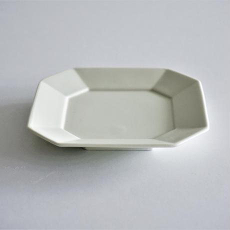 角小皿  ホワイト