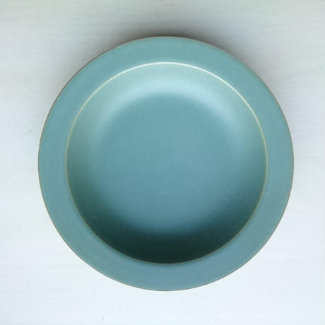 20㎝リム皿  グリーン