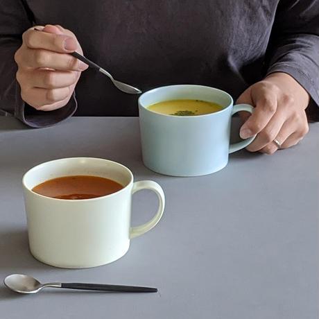 スープマグカップ ミントブルー