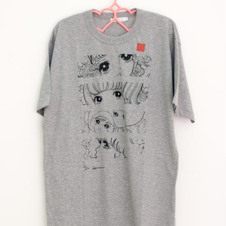 おめめTシャツ(グレー)