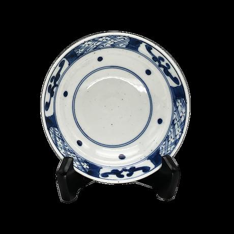 渕地紋スープ碗皿