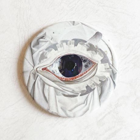 コンパクトミラー 「 眼の装い 」