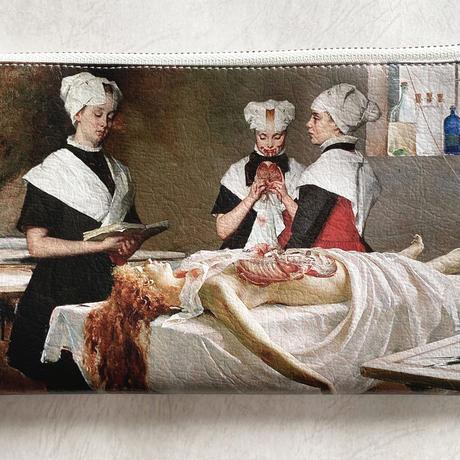 ポーチ「 Three Girls in the Morgue 」