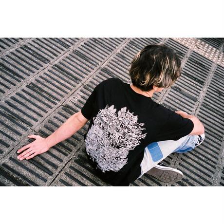 ● ( ein ) × 篠崎理一郎 「 NOW 」黒T