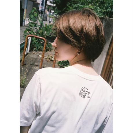 ○ ( ein ) × ごめん「 Until then 」白T