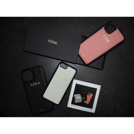 刻印高級レザー オーダーメイド iPhone case