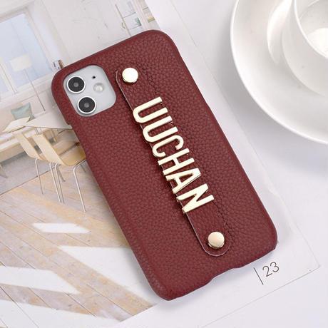 高級レザー オーダーメイド iPhone case