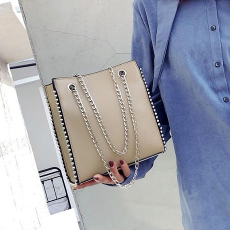 【4colour】Leather bag