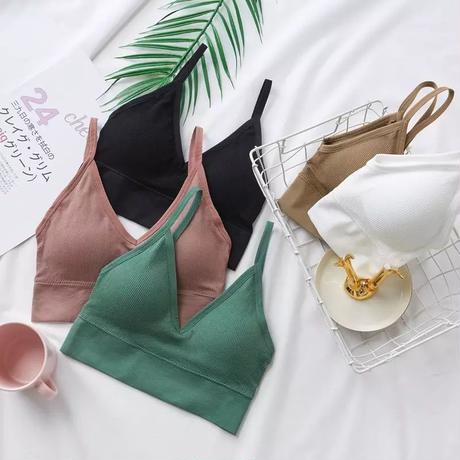 【5colour 】CAMISOLE WITH PAD