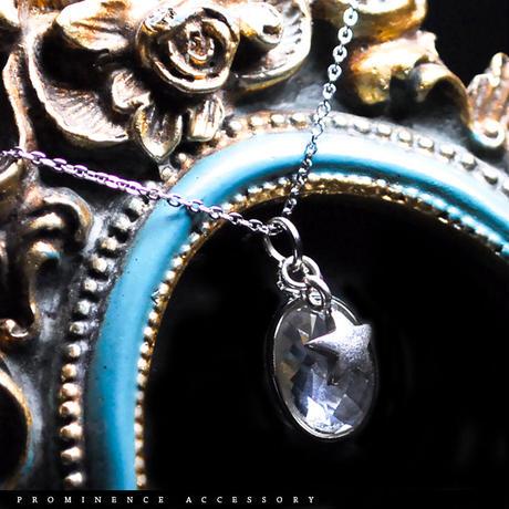 【天然石 | カット・天然水晶・スターチャーム・シルバー925・ペンダント】守護・心身浄化・幸運・パワーストーン