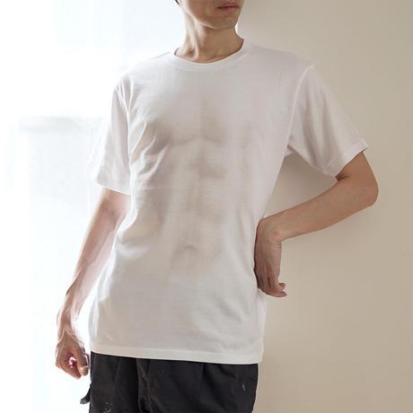 うっすらと筋肉が見える妄想マッピングTシャツ ※10月15日頃〜発送予定分
