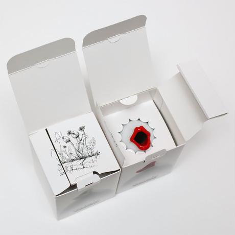 Chu-Lip Pot -White & Rouge assort set-