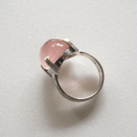 ハートを開く★ピンクリング