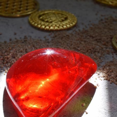 レッドのアンダラクリスタル(シエラネバダ産)お守り石