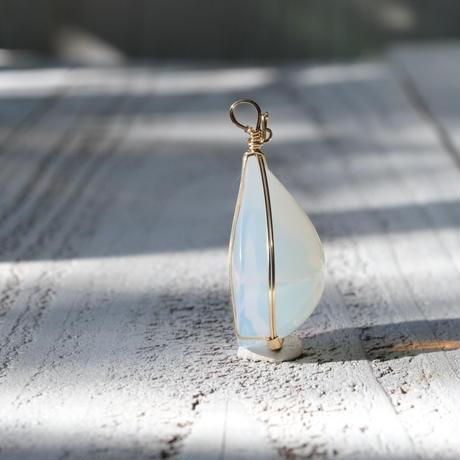妖精の花畑★ホワイトオパール