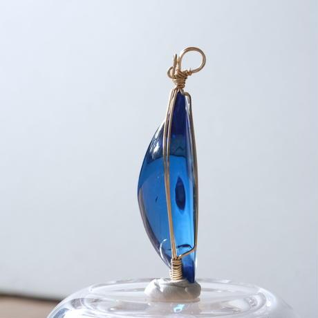 香水瓶★ブルー