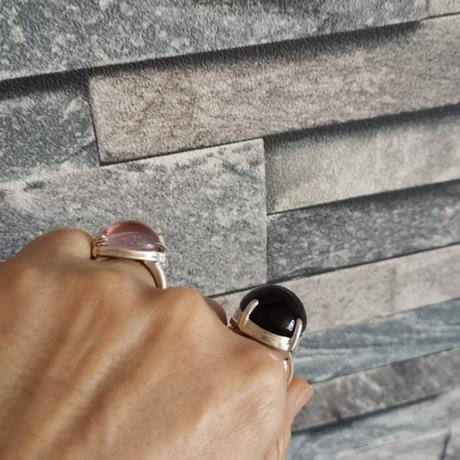 桜色★アンダラクリスタルのリング(シエラネバダ産)