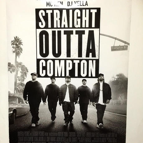 Summer Sale!!【STRAIGHT OUTTA COMPTON】 2 SIDE ムービーポスター