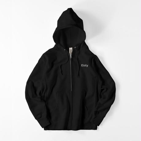 Elalyオリジナルパーカー(黒)