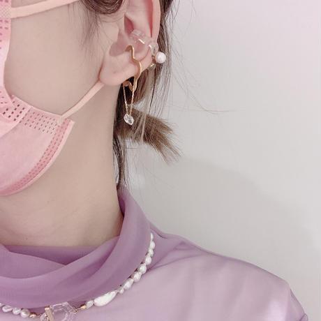 layer lace  Ear Cuff