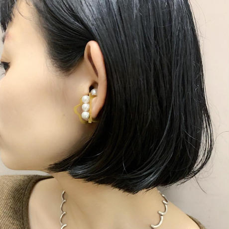 Ear cuff(3  Pearl)