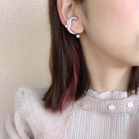 Ear cuff(wood)