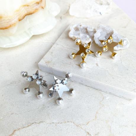 Star  pierce/earring (gold)