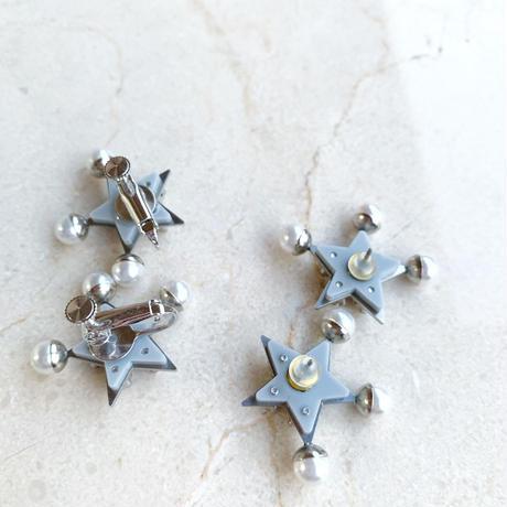 Star  pierce/earring (silver)