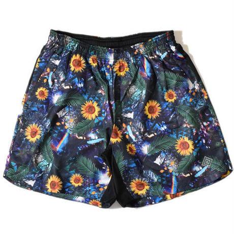 Glossy Trail Pants(Navy)