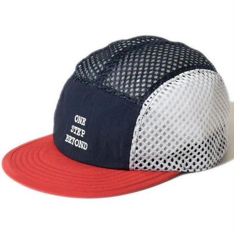 BEYOND MESH CAP(NAVY×RED)