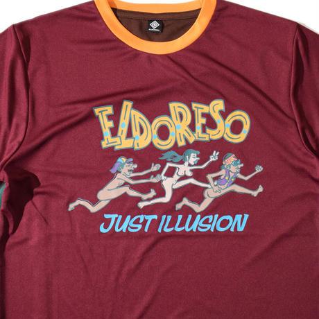 Illusion T(Burgundy) E1005320