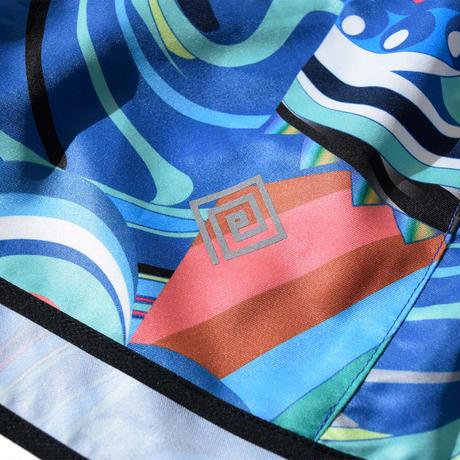 Lidia Shorts(Blue) E2104311