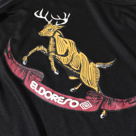 Deer Raglan T(Black) E1003729