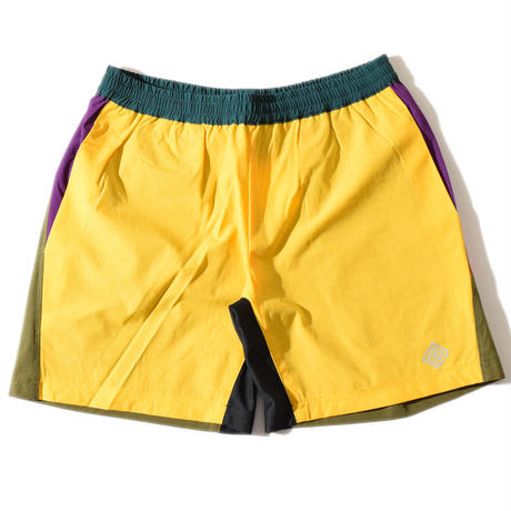 Stretch Vehicle Shorts(Yellow)
