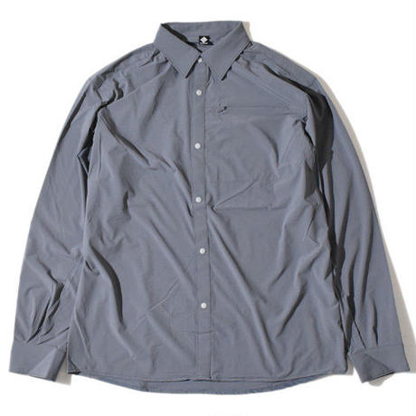 Mightiness PK Shirt(Gray)