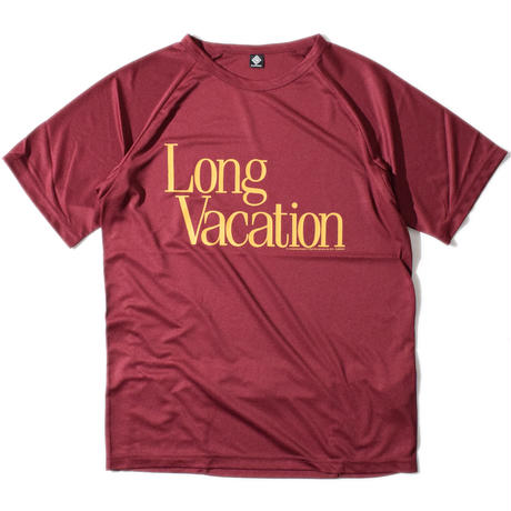 Long Vacation Raglan T(Burgundy) E1005120