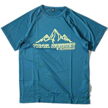 Trail Runner Raglan T(BlueGreen)