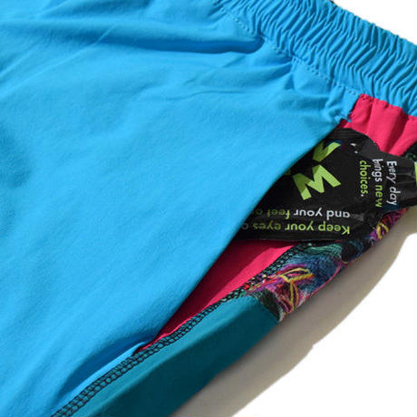 Fourway Buggy Shorts(Turquise)