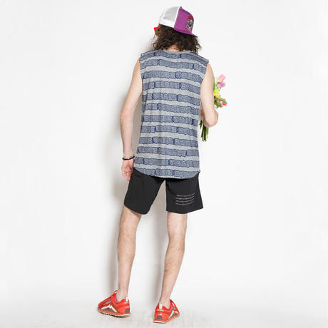Dissonant Sleeveless T(Gray)