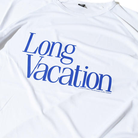 Long Vacation Raglan T(White) E1005120
